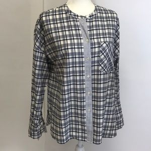 Madewell Cotton Button-Down Top